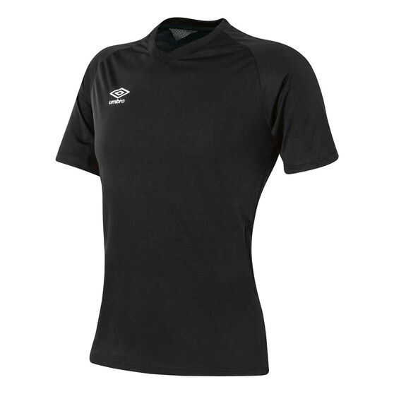 Umbro League Knit Youth Training Jersey, Black, rebel_hi-res