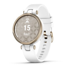 Garmin Lily Sport Smartwatch - Cream Gold White, , rebel_hi-res