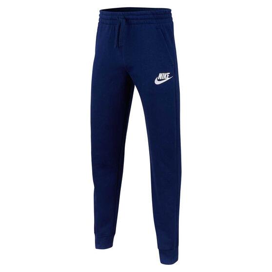 Nike Boys Club Jogger Pants, Blue / White, rebel_hi-res