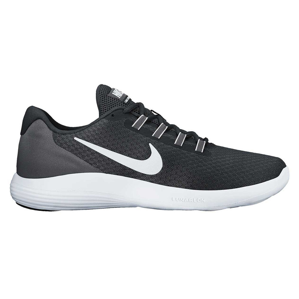 a74a53a375c Nike LunarConverge Womens Running Shoes Black   White US 9