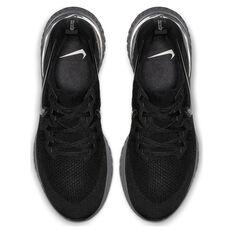 Nike Epic React Flyknit 2 Mens Running Shoes Black US 7, Black, rebel_hi-res