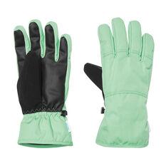 Tahwalhi Womens Scope Ski Gloves Green S, Green, rebel_hi-res