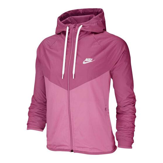 Nike Womens Windrunner Jacket, Pink, rebel_hi-res