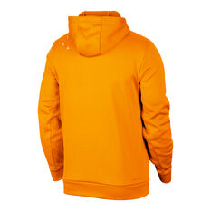 Nike Jordan Air  Men's Therma Fleece Hoodie Orange XS, Orange, rebel_hi-res