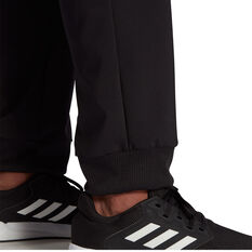 adidas Mens AEROREADY Tapered Stanford Pants, Black, rebel_hi-res
