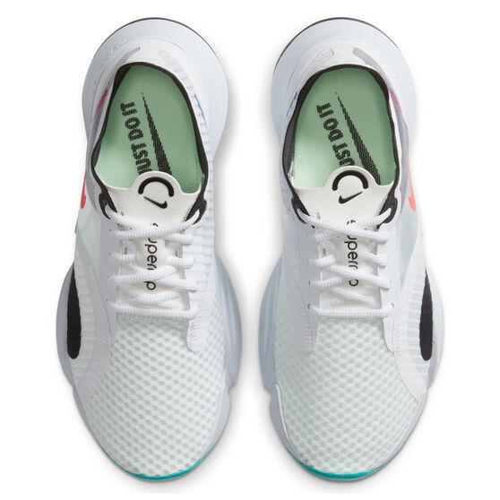 Nike SuperRep Go Womens Training Shoes, White/Crimson, rebel_hi-res