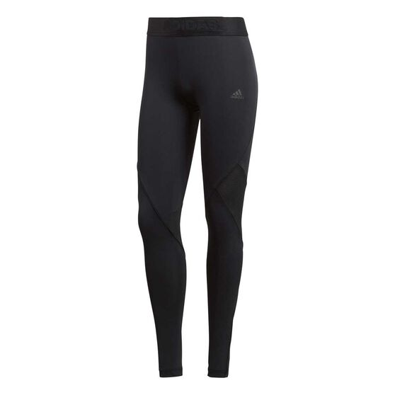 adidas Womens Alphaskin Sport Tights, Black, rebel_hi-res