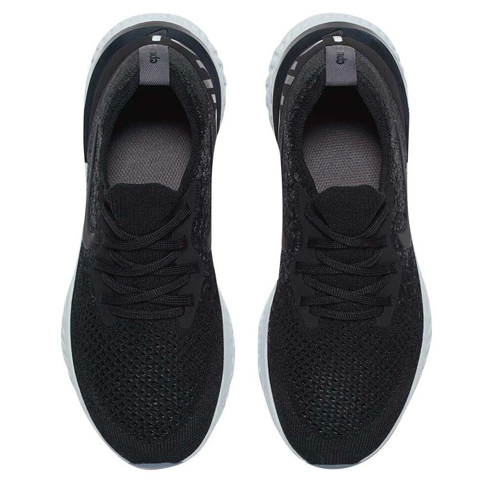 hot sale online 9609b ba2c6 Nike Epic React Flyknit Kids Running Shoes Black   Grey US 4, Black   Grey