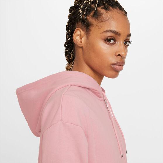 Nike Air Womens Air Full-Zip Fleece Hoodie, Pink, rebel_hi-res