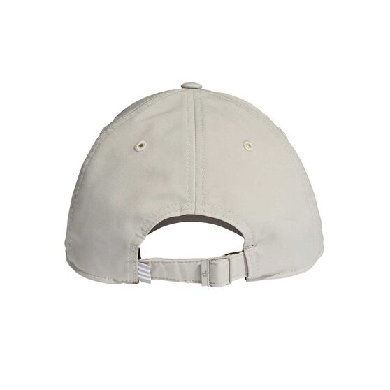 adidas Mens Baseball Embroidered Cap Grey OSFA, Grey, rebel_hi-res