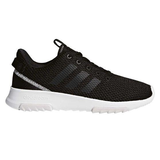 adidas Cloudfoam Racer TR Womens Casual Shoes Black / White US 11, Black / White, rebel_hi-res