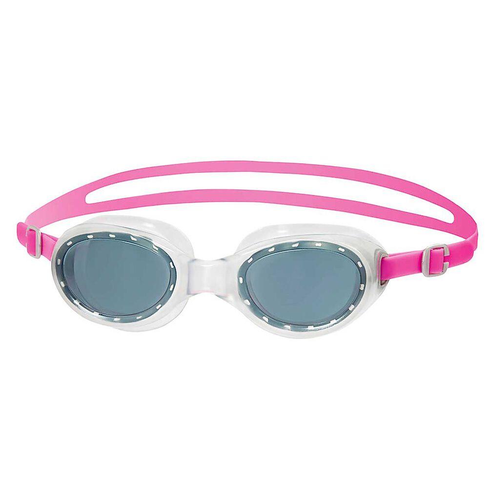 speedo futura classic junior swim goggles pink purple