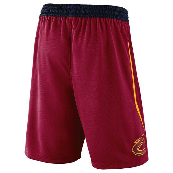 Nike Mens Cleveland Cavaliers 2018 Road Swingman Shorts L, , rebel_hi-res
