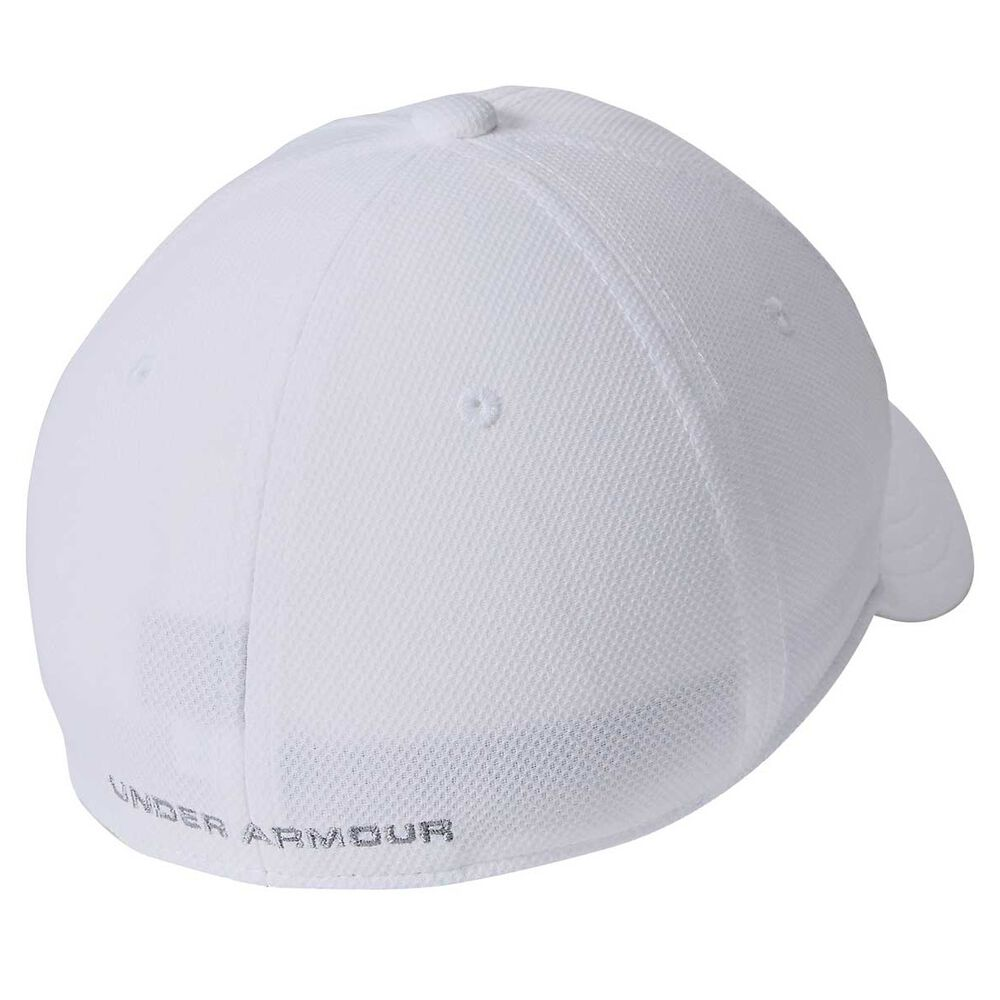 competitive price 1000a ebb3b Under Armour Boys Blitzing 3.0 Cap White   Black XS   S Junior, White