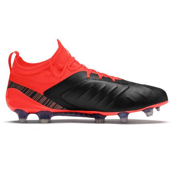 Puma ONE 5.1 Football Boots, Black / Red, rebel_hi-res