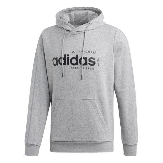 adidas Mens BB Hoodie, Grey, rebel_hi-res