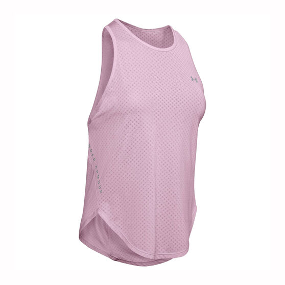 Under Armour Womens Armour Sport Graphic Tank, Pink, rebel_hi-res