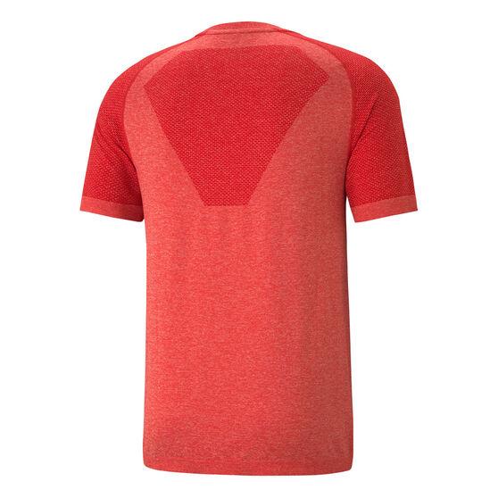 Puma Mens EvoKnit RTG Basic Tee, Red, rebel_hi-res