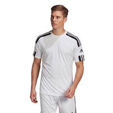 adidas Mens Squadra 21 Jersey White XS, White, rebel_hi-res