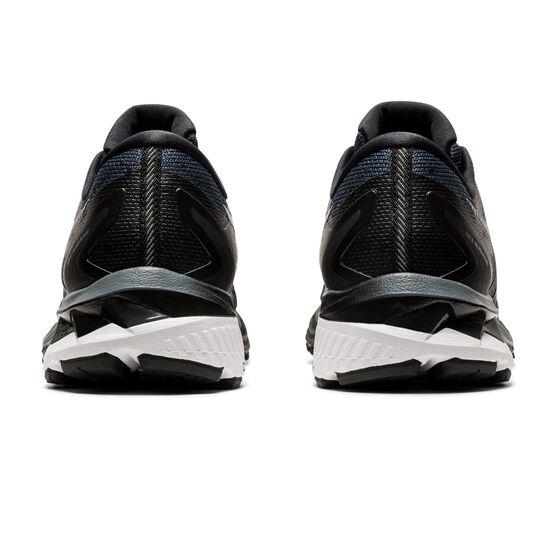 Asics GEL Kayano 27 D Womens Running Shoes, Black/Silver, rebel_hi-res