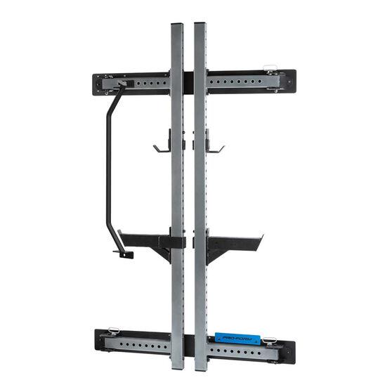 Proform Strength Foldable Wall Rack, , rebel_hi-res