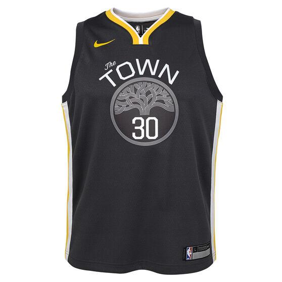 Nike Golden State Warriors Steph Curry 2019 Kids Statement Jersey ... 1d2f66efc