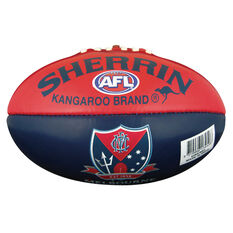 Sherrin AFL Melbourne Demons Softie Ball, , rebel_hi-res