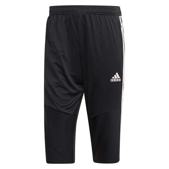 adidas Mens Tiro 19 3/4 Training Pants Black S, Black, rebel_hi-res