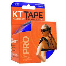 KT Tape Pro Kinesiology Tape Blue, Blue, rebel_hi-res
