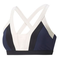Puma Womens Forever Luxe Sports Bra Blue XS, Blue, rebel_hi-res