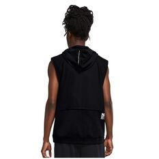 Nike Mens Dri-Fit Sleeveless Training Hoodie Black S, Black, rebel_hi-res
