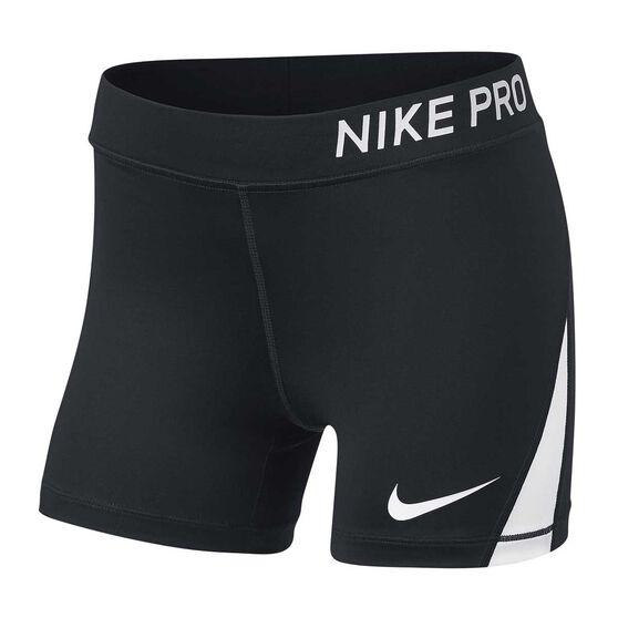 Nike Girls Pro Training Shorts, , rebel_hi-res