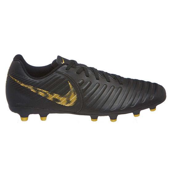 0dcefdcdaba3b Nike Tiempo Legend VII Club Mens Football Boots Black / Gold US Mens 7 /  Womens