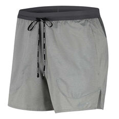 Nike Mens Flex Stride 5 Inch Brief Running Shorts Grey S, Grey, rebel_hi-res