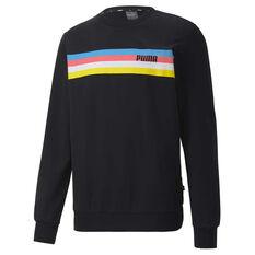 Puma Mens Celebration Sweatshirt, Black, rebel_hi-res