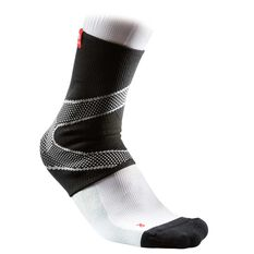McDavid 4way Ankle Sleeve with Gel Black S, Black, rebel_hi-res