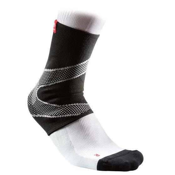 McDavid 4way Ankle Sleeve with Gel, Black, rebel_hi-res