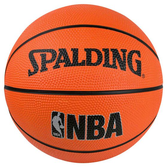 Spalding NBA Mini Outdoor Basketball Orange 3, , rebel_hi-res