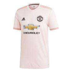Manchester United 2018 / 19 Mens Away Jersey Pink S, Pink, rebel_hi-res