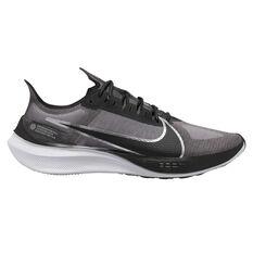 Nike Zoom Gravity Mens Running Shoes Black / Silver US 7, Black / Silver, rebel_hi-res