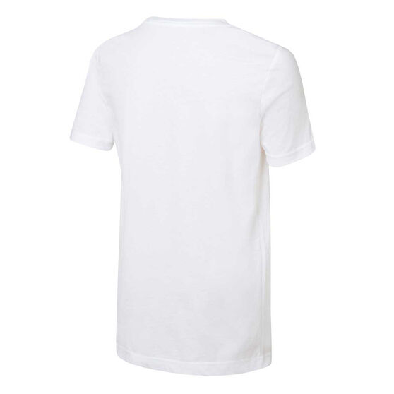 Nike Boys Air Jordan Tee, White / Red, rebel_hi-res