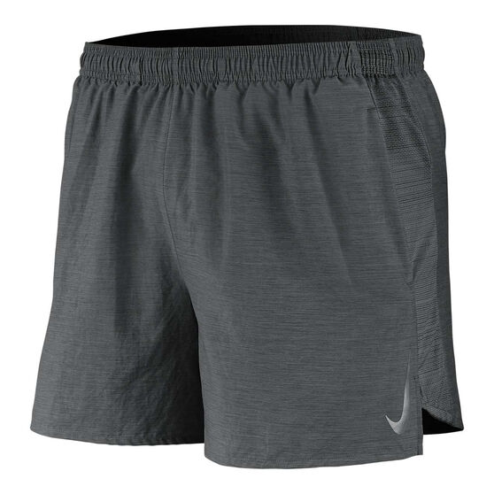 Nike Mens Dri-FIT Challenger 5in Running Shorts Grey XXL, Grey, rebel_hi-res