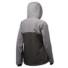 Tahwalhi Womens Wisla Ski Jacket Grey / Black 8, Grey / Black, rebel_hi-res