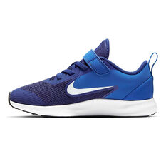 Nike Downshifter 9 Kids Running Shoes Blue / White US 11, Blue / White, rebel_hi-res