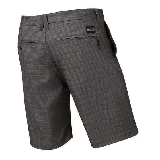 Quiksilver Mens Union Ripstop Amphibian Shorts, Black, rebel_hi-res