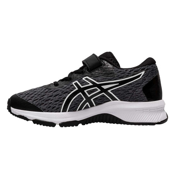 Asics GT 1000 9 Kids Running Shoes, Black/White, rebel_hi-res