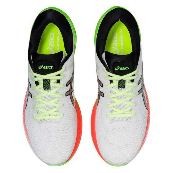 Asics GEL Kayano 27 Lite Show Mens Running Shoes, White/Silver, rebel_hi-res