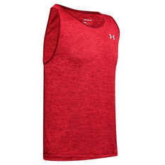 Under Armour Mens UA Tech 2.0 Tank Red S, Red, rebel_hi-res