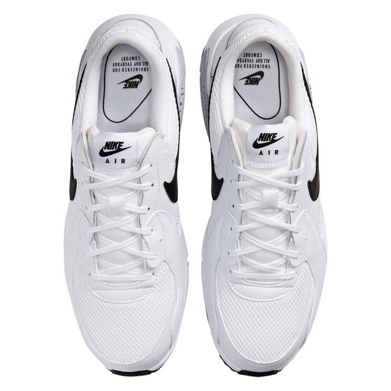 Nike Air Max Excee Mens Casual Shoes, White/Black, rebel_hi-res