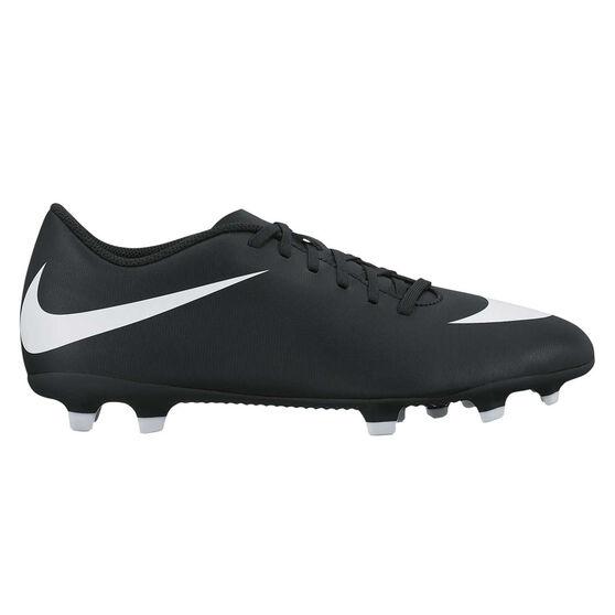 Nike Bravata II Mens Football Boots, Black / White, rebel_hi-res